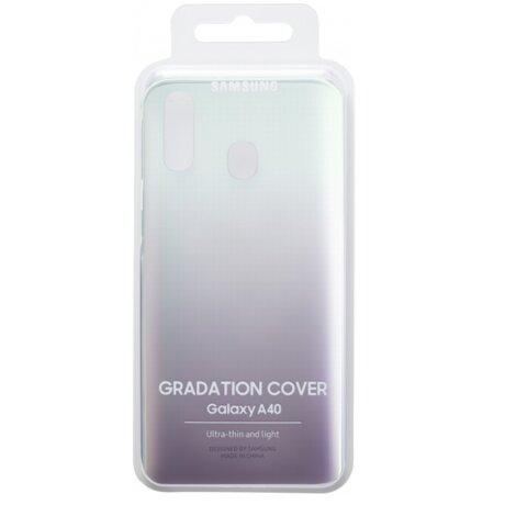Husa Hard Gradiation Cover Samsung pentru Samsung Galaxy A40 Black