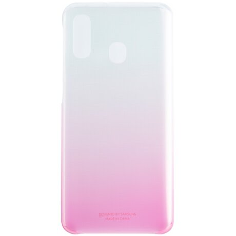 Husa Hard Gradiation Cover Samsung pentru Samsung Galaxy A40 Pink