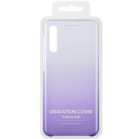 Husa Samsung Hard Gradiation Cover pentru Samsung Galaxy A50 Purple