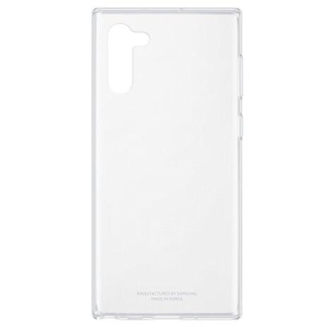 Husa Cover Hard Samsung pentru Samsung Galaxy Note 10 Transparent