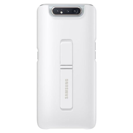 Husa Cover Hard Samsung Standing pentru Samsung Galaxy A80 White