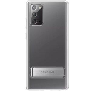 Husa Cover Hard Samsung Standing pentru Samsung Galaxy Note 20  Clear
