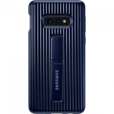 Husa Cover Hard Samsung Standing pentru Samsung Galaxy S10e Albastru