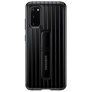 Husa Cover Hard Samsung Standing pentru Samsung Galaxy S20 Negru