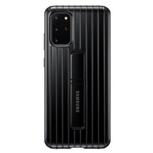 Husa Cover Hard Samsung Standing pentru Samsung Galaxy S20 Plus Negru