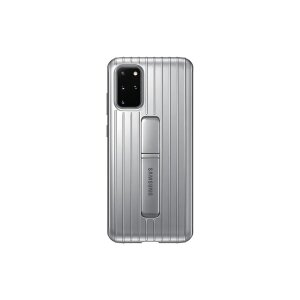 Husa Cover Hard Samsung Standing pentru Samsung Galaxy S20 Plus Argintiu