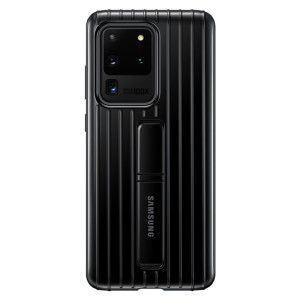 Husa Cover Hard Samsung Standing pentru Samsung Galaxy S20 Ultra Negru