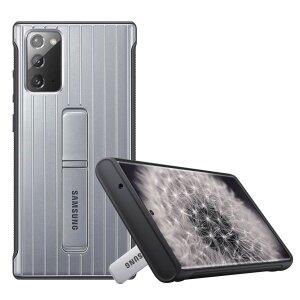 Husa Cover Hard Standing Samsung pentru Samsung Galaxy Note 20  Silver