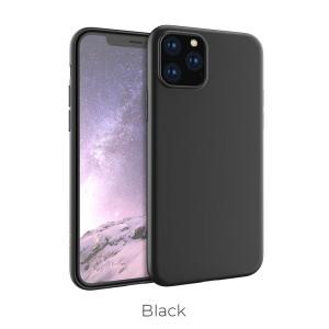 Husa Cover Hoco Silicon Fascination iPhone 11 Pro Max Negru