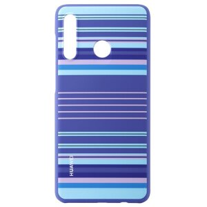 Husa Cover Huawei Lines pentru Huawei P30 Lite Blue
