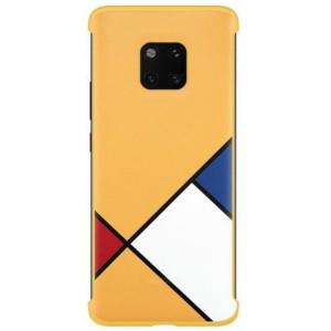 Husa Cover Huawei pentru Huawei Mate 20 Pro Abstract Art Yellow