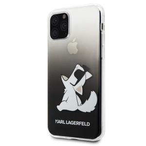 Husa Cover Karl Lagerfeld Choupette Fun pentru iPhone 11 Pro Negru