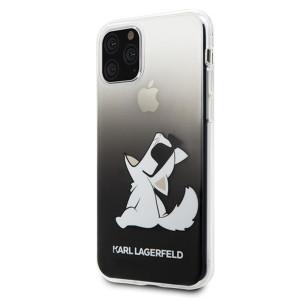 Husa Cover Karl Lagerfeld Choupette Fun pentru iPhone 11 Pro Max Negru