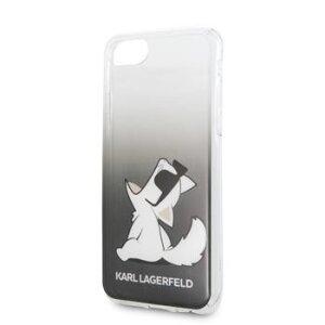 Husa Cover Karl Lagerfeld Choupette Fun Pentru Iphone 7/8/Se 2 Black