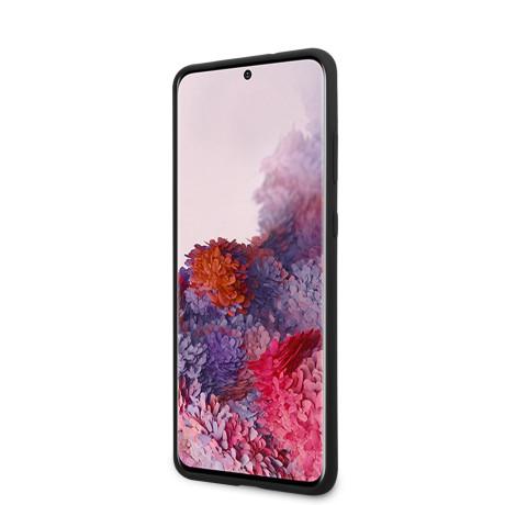 Husa Cover Karl Lagerfeld Iconic Silicone pentru Samsung Galaxy S20 Negru