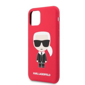 Husa Cover Karl Lagerfeld Iconik Body pentru iPhone 11 Red