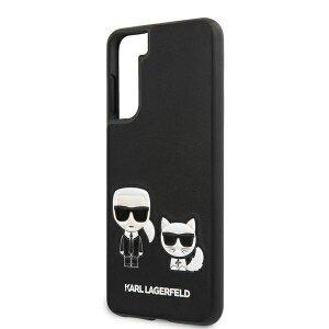 Husa Cover Karl Lagerfeld Karl&Choupette pentru Samsung Galaxy S21 Black