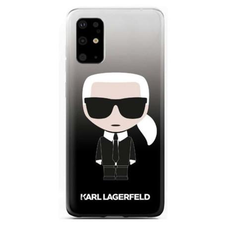 Husa Cover Karl Lagerfeld pentru Samsung Galaxy S20 Degrade Negru