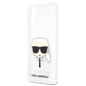 Husa Cover Karl Lagerfeld TPU Head pentru Samsung Galaxy S21 Clear