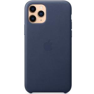Husa Cover Leather Apple pentru iPhone 11 Pro  Albastru