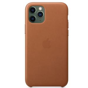 Husa Cover Leather Apple pentru iPhone 11 Pro  Maro