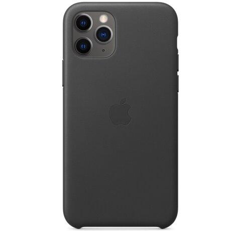 Husa Cover Leather Apple pentru iPhone 11 Pro  Negru