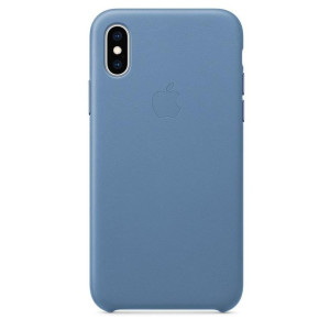 Husa Cover Leather Apple pentru iPhone X/XS MVFP2ZM/A Blue
