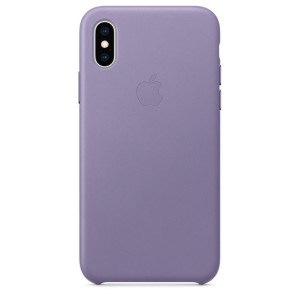 Husa Cover Leather Apple pentru iPhone X/XS MVFR2ZM/A Purple