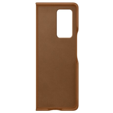 Husa Cover Leather Samsung pentru Samsung Galaxy Fold 2 Maro