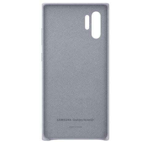 Husa Cover Leather Samsung pentru Samsung Galaxy Note 10 Plus Gri