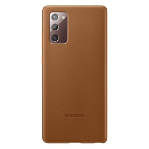 Husa Cover Leather Samsung pentru Samsung Galaxy Note 20  Brown