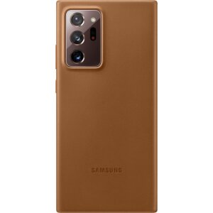 Husa Cover Leather Samsung pentru Samsung Galaxy Note 20 Ultra Brown