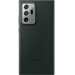Husa Cover Leather Samsung pentru Samsung Galaxy Note 20 Ultra Verde