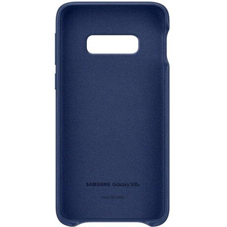 Husa Cover Leather Samsung pentru Samsung Galaxy S10e Albastru