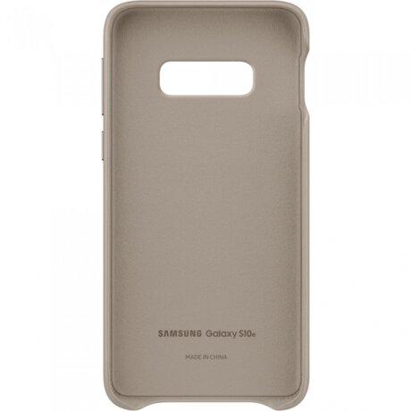 Husa Cover Leather Samsung pentru Samsung Galaxy S10e Gri