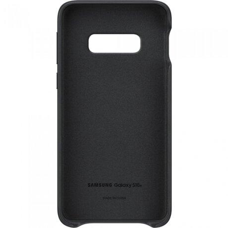 Husa Cover Leather Samsung pentru Samsung Galaxy S10e Negru