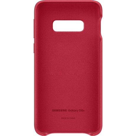 Husa Cover Leather Samsung pentru Samsung Galaxy S10e Rosu