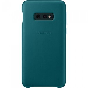Husa Cover Leather Samsung pentru Samsung Galaxy S10e Verde