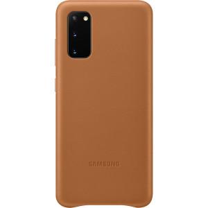 Husa Cover Leather Samsung pentru Samsung Galaxy S20 Maro