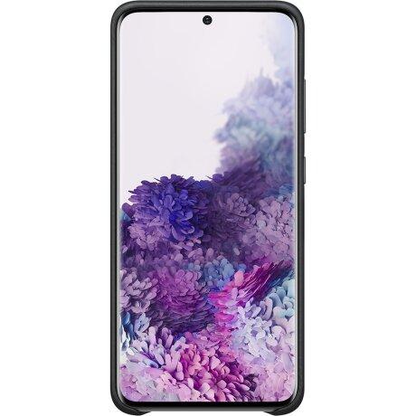 Husa Cover Leather Samsung pentru Samsung Galaxy S20 Negru
