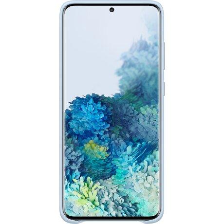 Husa Cover Leather Samsung pentru Samsung Galaxy S20 Plus Albastru