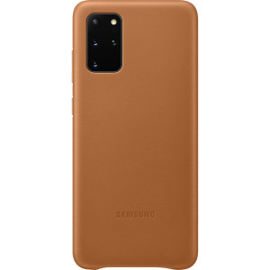 Husa Cover Leather Samsung pentru Samsung Galaxy S20 Plus Maro