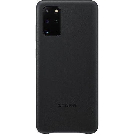 Husa Cover Leather Samsung pentru Samsung Galaxy S20 Plus Negru