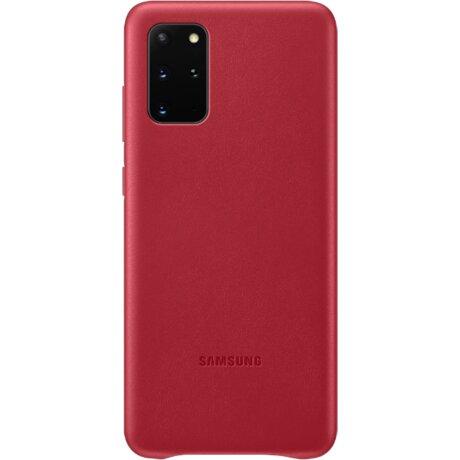 Husa Cover Leather Samsung pentru Samsung Galaxy S20 Plus Rosu