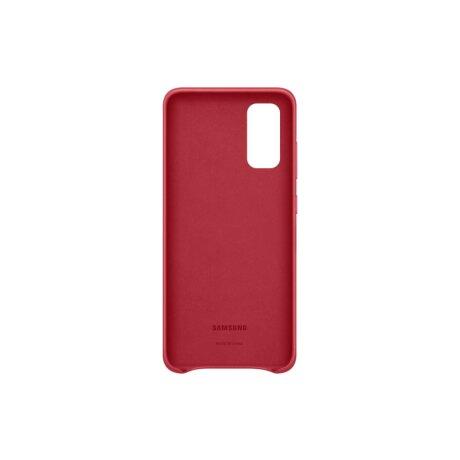 Husa Cover Leather Samsung pentru Samsung Galaxy S20 Rosu