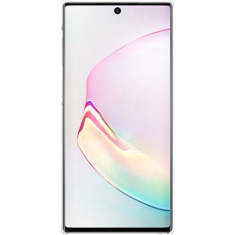 Husa Cover Led Samsung pentru Samsung Galaxy Note 10 Alb