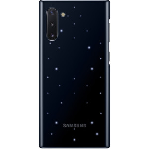 Husa Cover Led Samsung pentru Samsung Galaxy Note 10 Negru