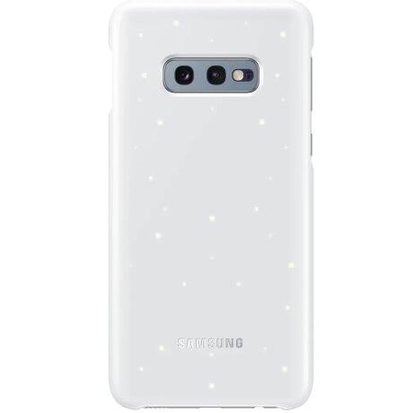 Husa Cover Led Samsung pentru Samsung Galaxy S10e Alb