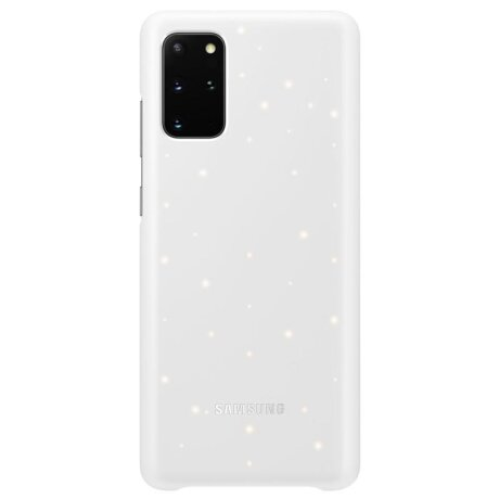 Husa Cover Led Samsung pentru Samsung Galaxy S20 Plus Alb