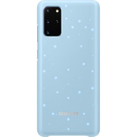 Husa Cover Led Samsung pentru Samsung Galaxy S20 Plus Albastru